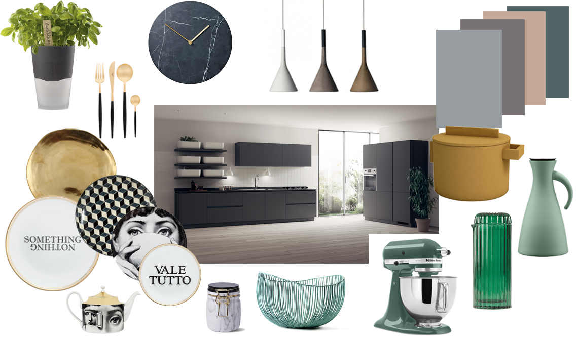 Moodboard cucina scavolini QI8