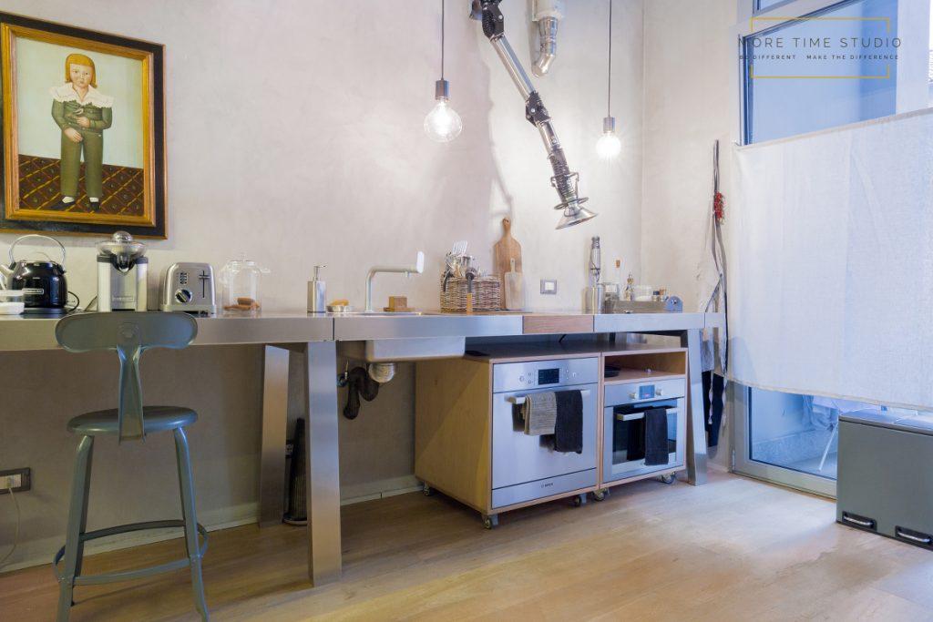 more time studio fotografia d'interni cucina stile industriale