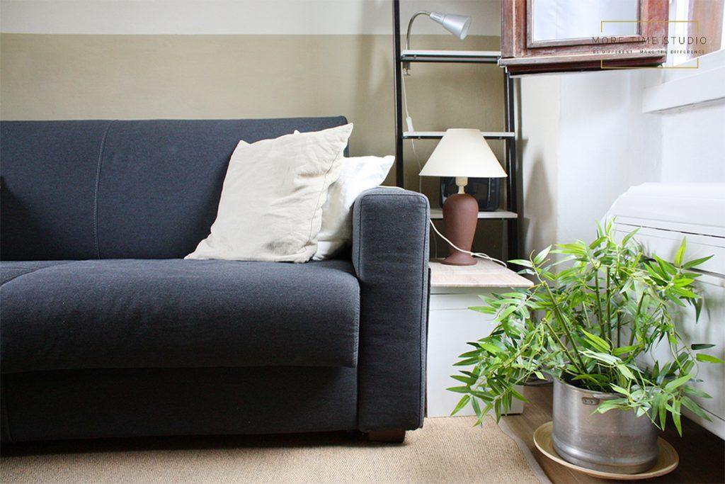 more time studio fotografia d'interni dettaglio divano