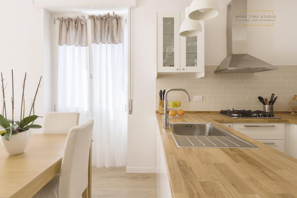 more time studio fotografia d'interni cucina rovere