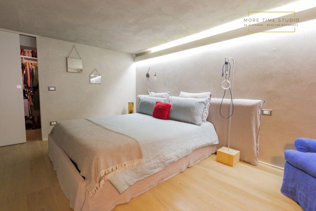 more time studio fotografia d'interni camera da letto design