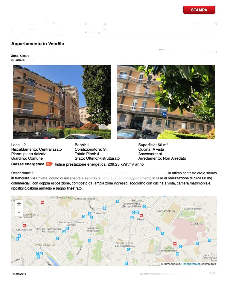 esempio di brochure appartamento brutta